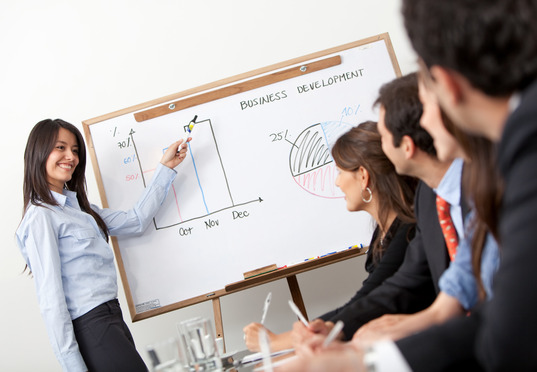 бизнес-презентация для рукодельниц