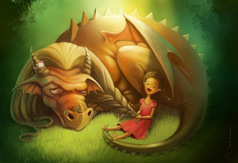 Драконище, дракон, дракончик